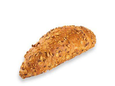 Heerlijke meergranen croissant van Bakkerij Maxima.