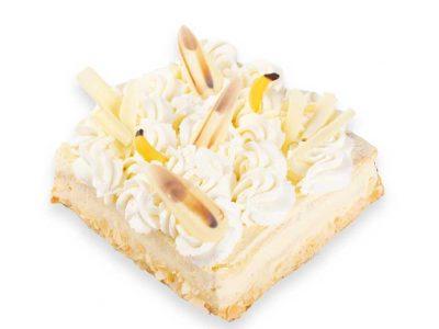 Heerlijke bananentaart van Bakkerij Maxima, een gegarandeerde hit!