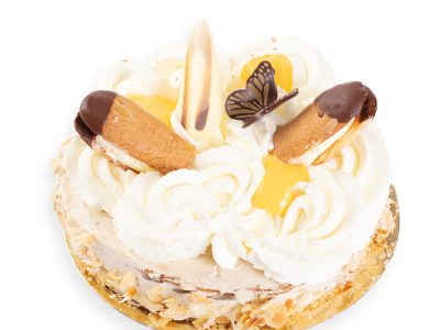 Overheerlijke bokkenpootjes taart van Bakkerij Maxima.