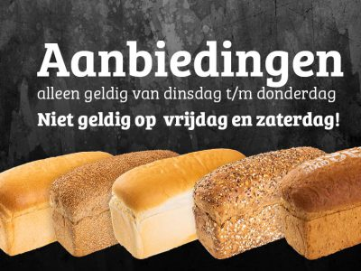 Broodaanbiedingen